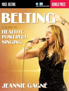Belting: A Guide to Healthy, Powerful Singing (HL-00124984)