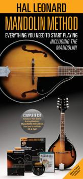Hal Leonard Mandolin Method Pack: Includes a Mandolin, Method Book/CD, (HL-00125547)
