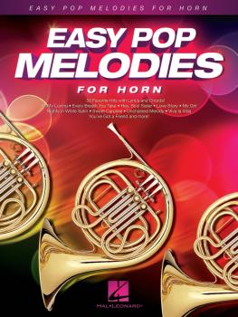 Easy Pop Melodies (for Horn) (HL-00125790)