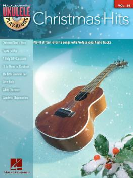 Christmas Hits: Ukulele Play-Along Series Volume 34 (HL-00128602)