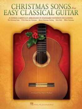 Christmas Songs for Easy Classical Guitar (HL-00128604)