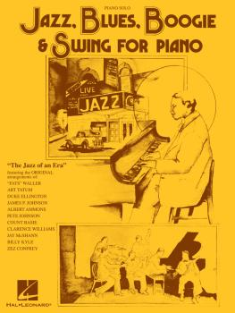 Jazz, Blues, Boogie & Swing for Piano (HL-00129210)