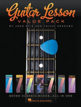 Guitar Lesson Value Pack: Seven Classic Books All in One! (HL-00130148)