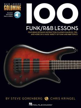 100 Funk/R&B Lessons: Bass Lesson Goldmine Series (HL-00131463)