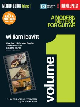 A Modern Method for Guitar - Volume 1: Book with More Than 14 Hours of (HL-00137387)
