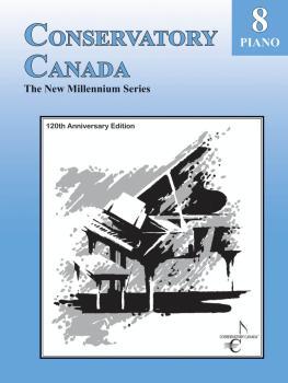 New Millennium Grade 8 Piano Conservatory Canada (HL-00139040)