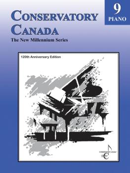 New Millennium Grade 9 Piano Conservatory Canada (HL-00139041)