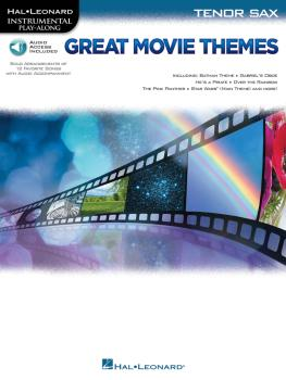 Great Movie Themes (for Tenor Sax Instrumental Play-Along) (HL-00139146)