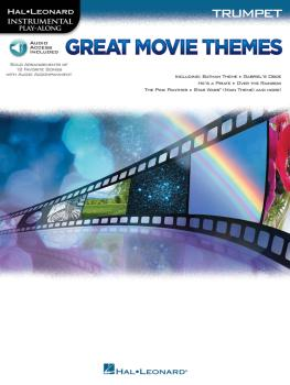Great Movie Themes (for Trumpet Instrumental Play-Along) (HL-00139147)
