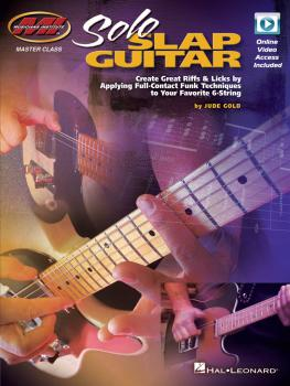 Solo Slap Guitar: Create Great Riffs & Licks by Applying Full-Contact  (HL-00139556)