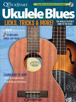 Kev's QuickStart Ukulele Blues: Licks, Tricks & More - The Ukulele Pla (HL-00141051)