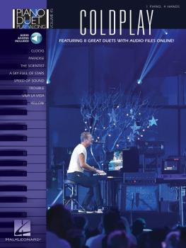 Coldplay: Piano Duet Play-Along Volume 45 (HL-00141054)