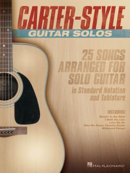 Carter-Style Guitar Solos (HL-00141463)
