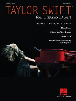 Taylor Swift for Piano Duet (Intermediate Level) (HL-00142333)
