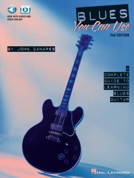 Blues You Can Use - 2nd Edition: A Complete Guide to Learning Blues Gu (HL-00142420)