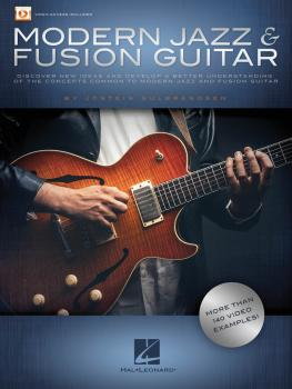 Modern Jazz & Fusion Guitar: More Than 140 Video Examples! (HL-00143188)