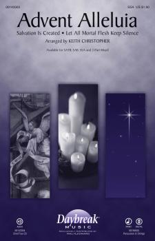 Advent Alleluia (with Salvation Is Created and Let All Mortal Flesh Ke (HL-00143303)