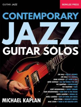 Contemporary Jazz Guitar Solos (HL-00143596)