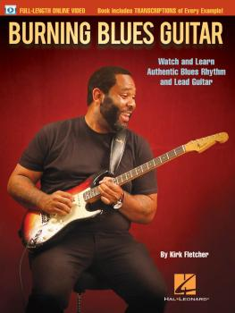Burning Blues Guitar: Watch and Learn Authentic Blues Rhythm and Lead  (HL-00144038)