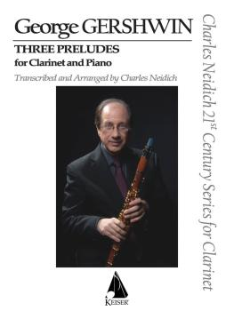3 Preludes (Arranged for Clarinet and Piano) (HL-00144422)
