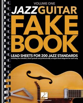 Jazz Guitar Fake Book - Volume 1: Lead Sheets for 200 Jazz Standards (HL-00145418)