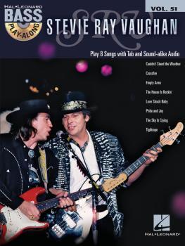 Stevie Ray Vaughan: Bass Play-Along Volume 51 (HL-00146154)