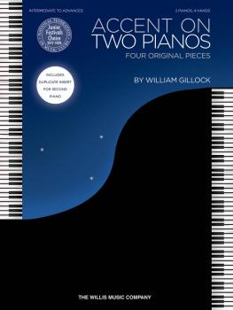 Accent on Two Pianos: Intermediate to Advanced Level (HL-00146176)