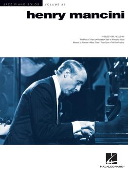 Henry Mancini: Jazz Piano Solos Series Volume 38 (HL-00146382)