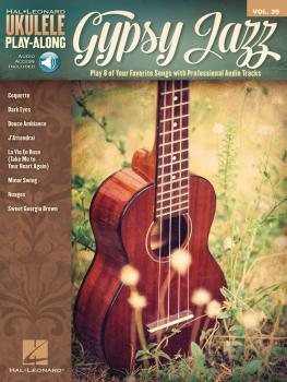 Gypsy Jazz: Ukulele Play-Along Volume 39 (HL-00146559)