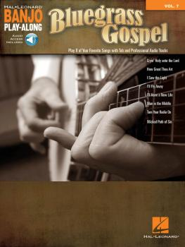 Bluegrass Gospel: Banjo Play-Along Volume 7 (HL-00147594)