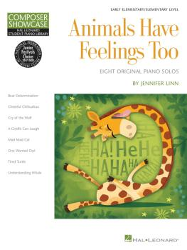 Animals Have Feelings Too: Hal Leonard Student Library Composer Showca (HL-00147789)