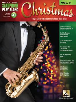Christmas: Saxophone Play-Along Volume 9 (HL-00148170)