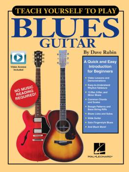 Teach Yourself to Play Blues Guitar: A Quick and Easy Introduction for (HL-00148796)