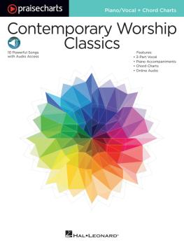 Contemporary Worship Classics: PraiseCharts Series Piano/Vocal + Chord (HL-00149722)