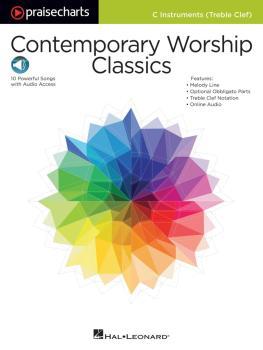 Contemporary Worship Classics: PraiseCharts Series C Treble Instrument (HL-00149724)