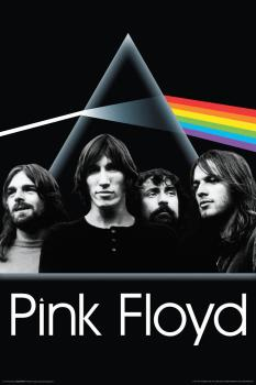 Pink Floyd - Dark Side Group - Wall Poster: 24 inches x 36 inches (HL-00149833)