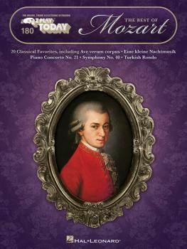 The Best of Mozart: E-Z Play Today Volume 180 (HL-00149881)