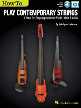 How to Play Contemporary Strings: A Step-by-Step Approach for Violin,  (HL-00151259)