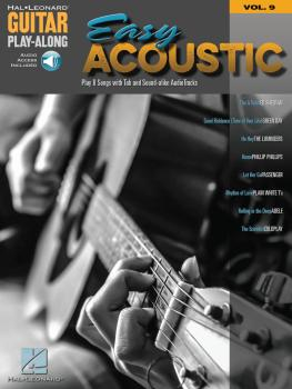 Easy Acoustic Songs: Guitar Play-Along Volume 9 (HL-00151708)