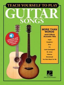Teach Yourself to Play Guitar Songs: More Than Words & 9 More Acoustic (HL-00152225)