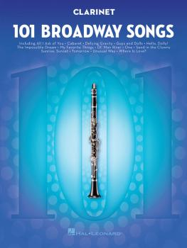 101 Broadway Songs for Clarinet (HL-00154200)