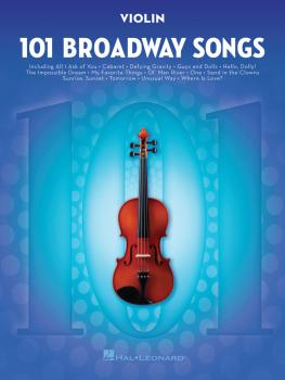 101 Broadway Songs for Violin (HL-00154206)