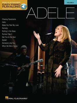 Adele: Easy Piano Play-Along Volume 4 (HL-00156223)