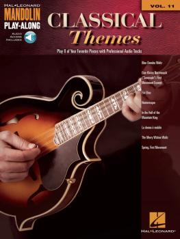 Classical Themes: Mandolin Play-Along Volume 11 (HL-00156777)