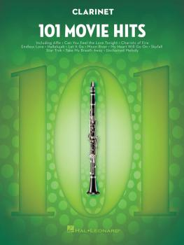 101 Movie Hits for Clarinet (HL-00158088)
