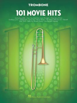 101 Movie Hits for Trombone (HL-00158093)