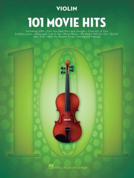 101 Movie Hits for Violin (HL-00158094)