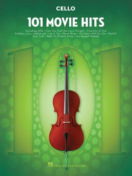 101 Movie Hits for Cello (HL-00158096)