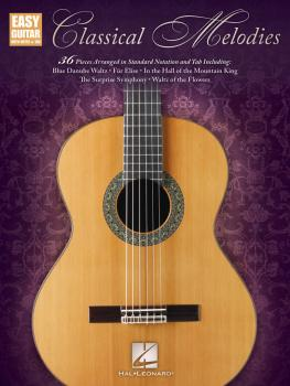 Classical Melodies: Easy Guitar with Notes & Tab (HL-00159642)