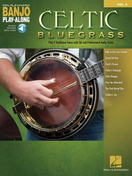 Celtic Bluegrass: Banjo Play-Along Volume 8 (HL-00160077)
